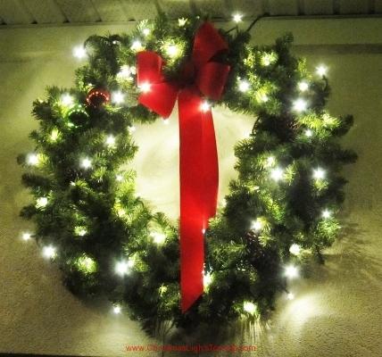Etobicoke 36 inch decorated Christmas Wreath