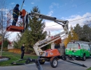 Safe and professional equipment to install Christmas lights anywhere in the greater Toronto Area