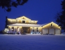 Nobleton Home Christmas LED Lights professionally fit to your house