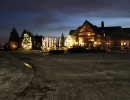 Eagles Nest Golf Course in Maple Christmas lights by LawnSavers
