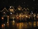 Strathearn Rd Full Christmas decorations mini lights wreath garland house lights