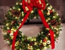 Decorated Wreath by LawnSavers professionals donated to Sick Kids fundraiser