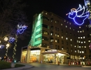 St. Joes Hospital Toronto angel and tree of lights by LawnSavers
