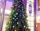st-joes-hospital-toronto-christmas-decoration-large-15-foot-interior-tree-at-maternity-ward-by-lawnsavers