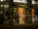 st-joes-hospital-toronto-christmas-decoration-lit-garland-on-pillars-front-entrance-by-lawnsavers-by-lawnsavers