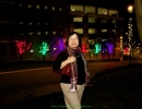 st-joes-hospital-toronto-christmas-decoration-outdoor-trees-multi-colour-lamp-pole-garland-by-lawnsavers