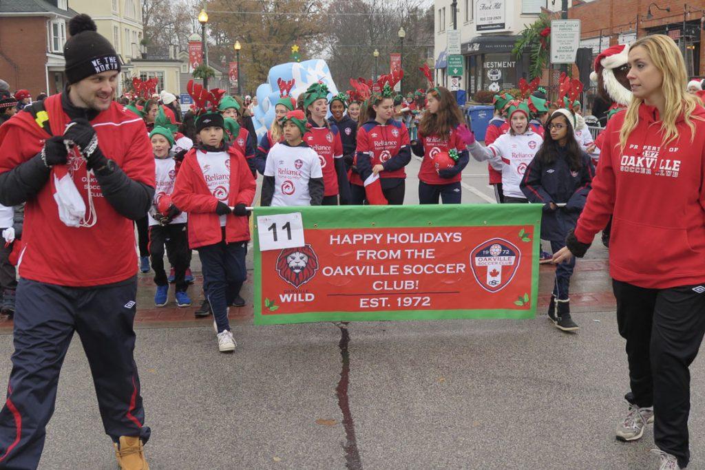 Oakville Santa Parade 2018