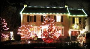 North York Christmas light installation services lawnsavers