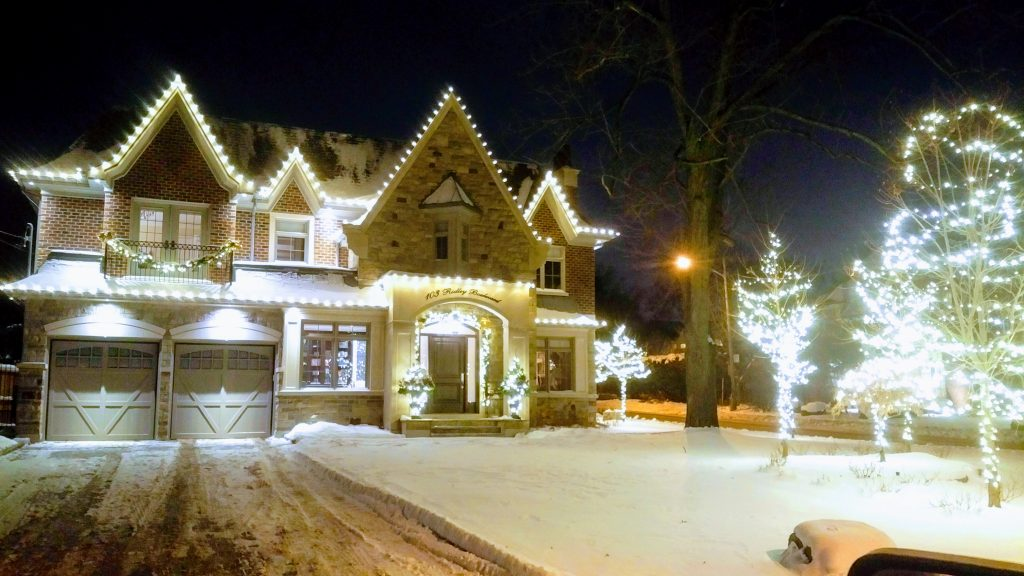 christmas lights installation north york