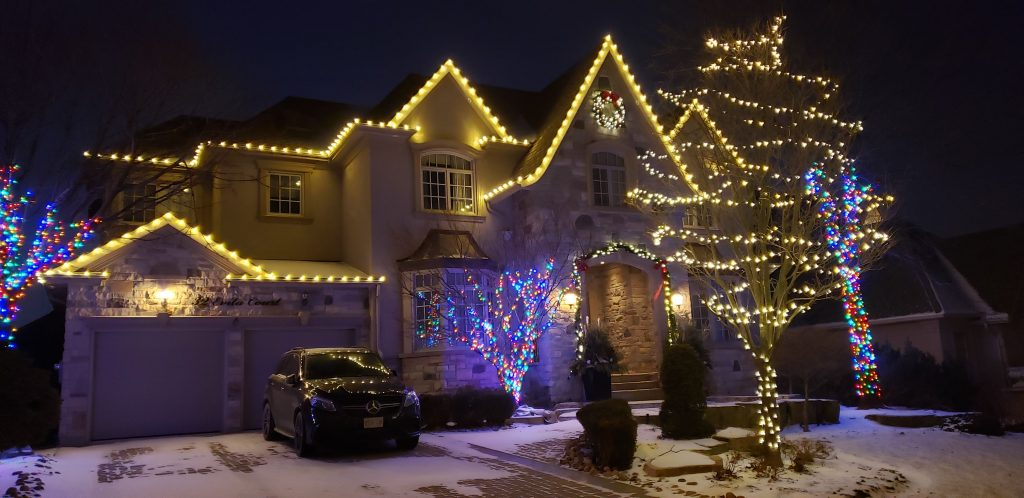 christmas lights installation oakville