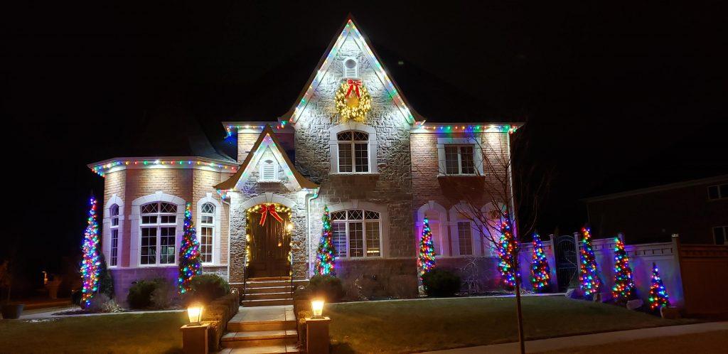 christmas lights installation richmond hill