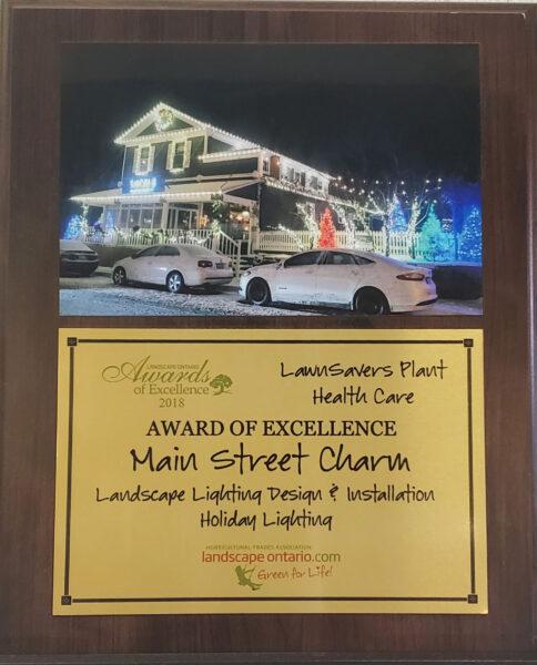 Best Christmas Lighting Toronto Award Winner